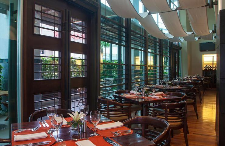 Cook's restaurant sheraton guayaquil hotel