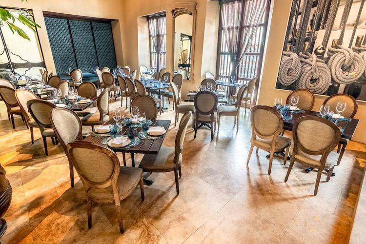 Restaurant bastion luxury hotel cartagena
