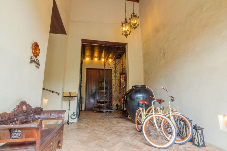 Bicycles at bastión luxury hotel bastion luxury hotel cartagena