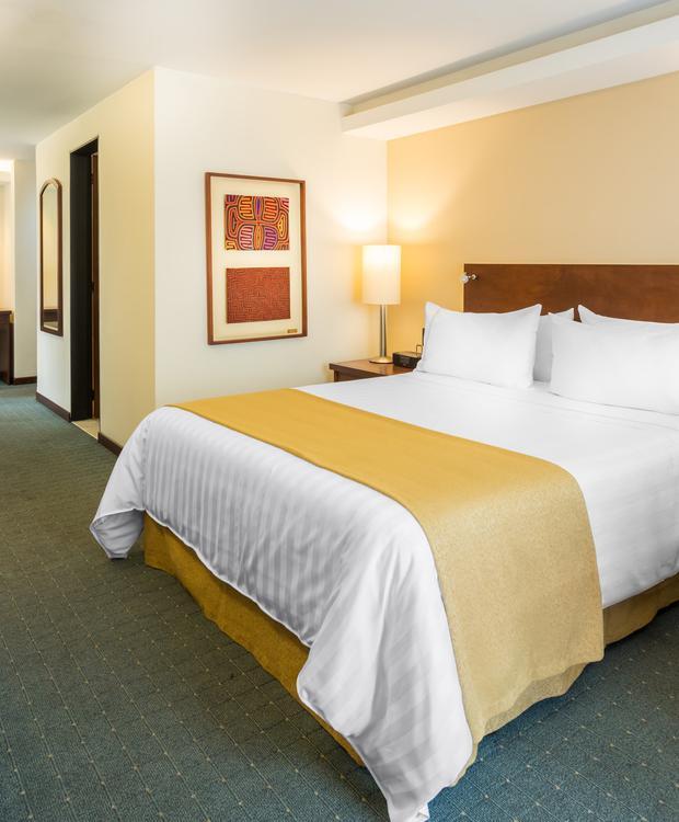 Room Terrace GHL Hotel Capital GHL Capital Hotel Bogotá