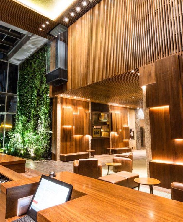 Recepción y Lobby Bioxury Hotel Bogotá
