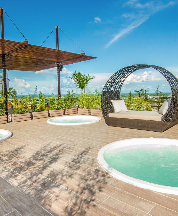 Terrace GHL Hotel Grand Villavicencio Villavicencio