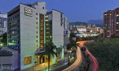 Facade four points by sheraton medellín hotel