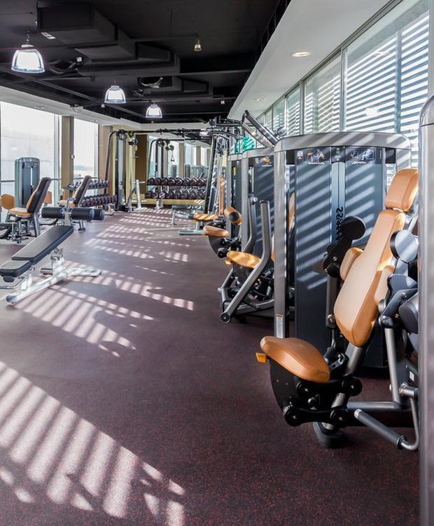 Gym Hotel Four Points By Sheraton Los Ángeles Los Ángeles