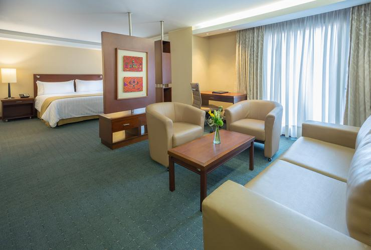 Junior suite ghl capital hotel bogota