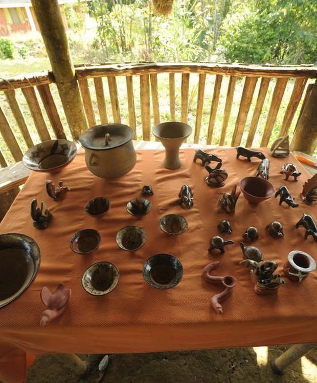 Handicrafts Orkidea Orkidea Lodge Puyo