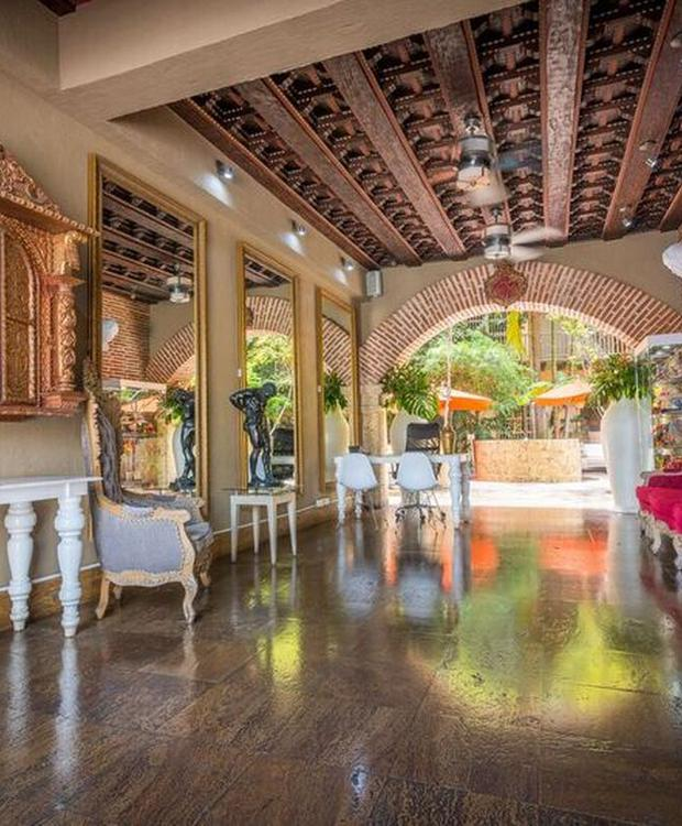 Lobby GHL Collection Armería Real Hotel Cartagena de Indias