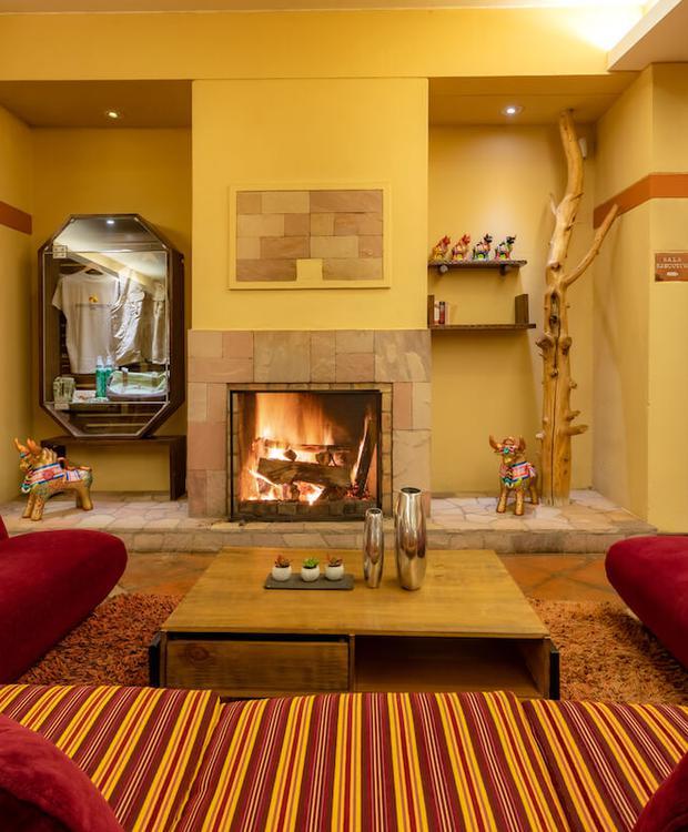 Lobby Sonesta Hotel Posadas del Inca Puno Puno