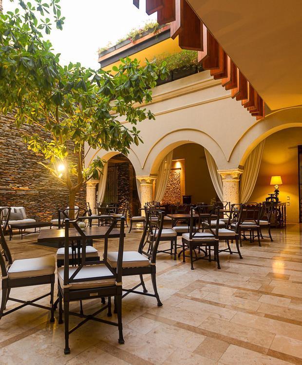 Courtyard El Gobernador in Bastión Luxury Hotel Bastión Luxury Hotel Cartagena de Indias
