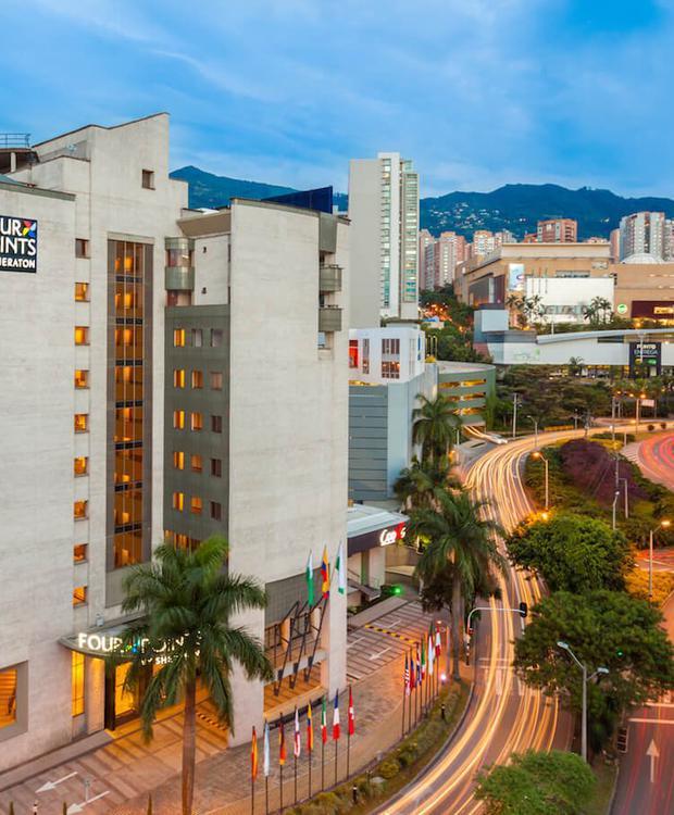 Facade Four Points By Sheraton Medellín Hotel Medellín