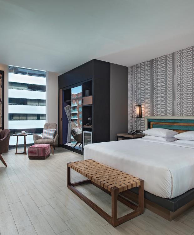Standard King Room Hyatt Centric Guatemala City Hotel Guatemala City