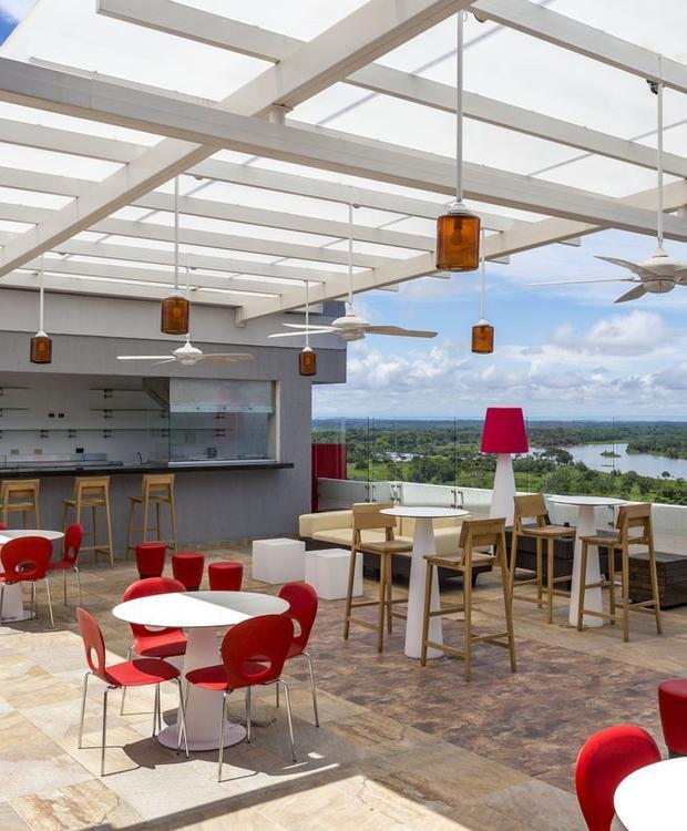 Lounge Bar Terrace Hotel Park Inn By Radisson Barrancabermeja Barrancabermeja