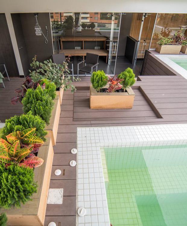 Wet areas Biohotel Organic Suites Bogotá