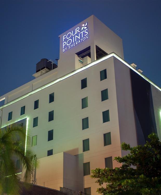 Facade Four Points By Sheraton Barranquilla Hotel Barranquilla