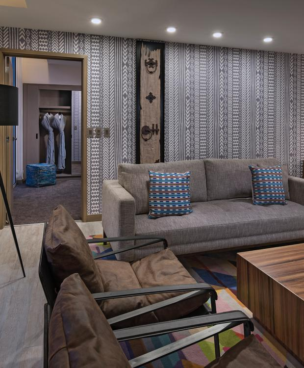 Ambassador Living Room Suite Hyatt Centric Guatemala City Hotel Guatemala City