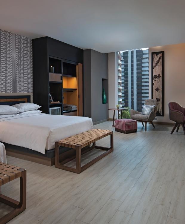 Double Adapted Room Hyatt Centric Guatemala City Hotel Guatemala City