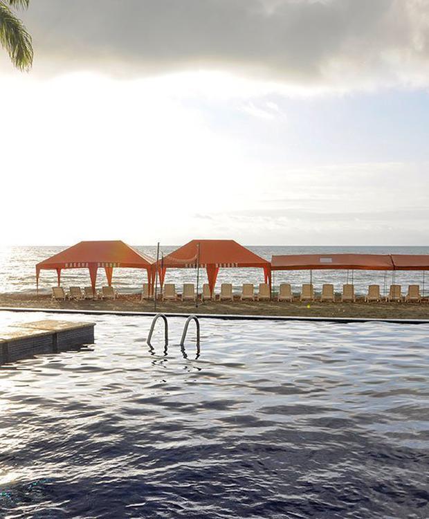 Swimming Pool GHL Relax Hotel Makana Resort Tonsupa