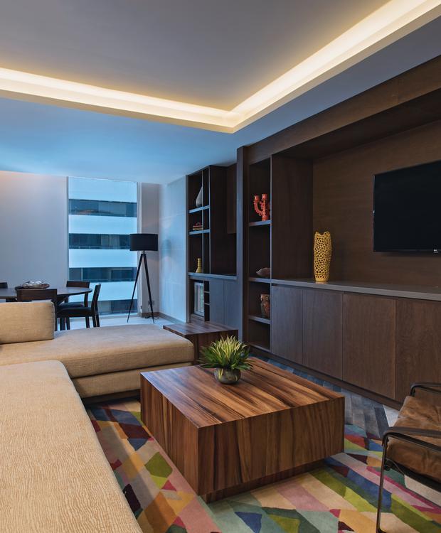 Deluxe Executive Living Room Hyatt Centric Guatemala City Hotel Guatemala City