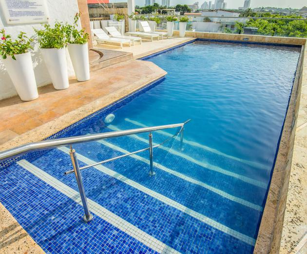 Outdoor swimming pool  Cartagena