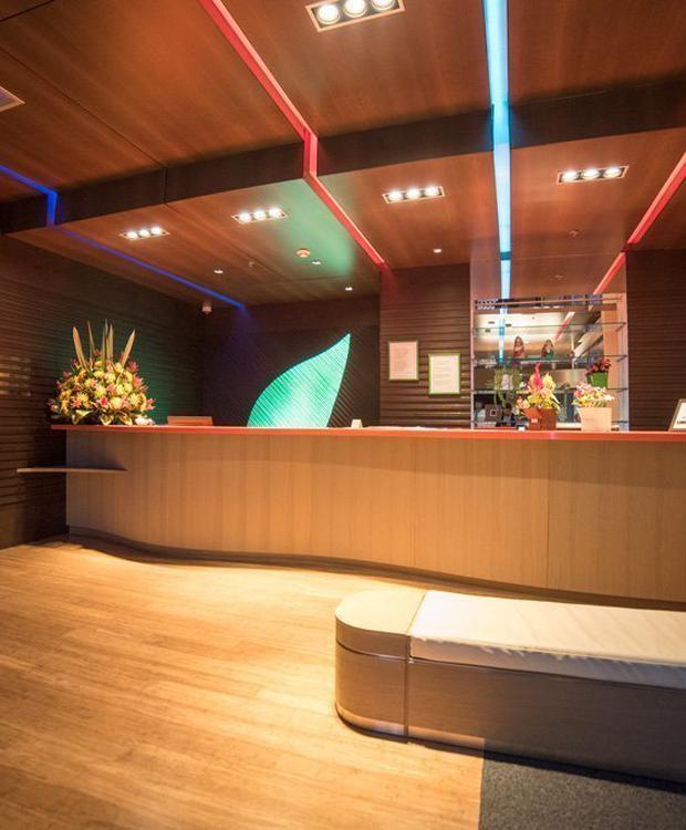 Lobby Biohotel Organic Suites Bogotá