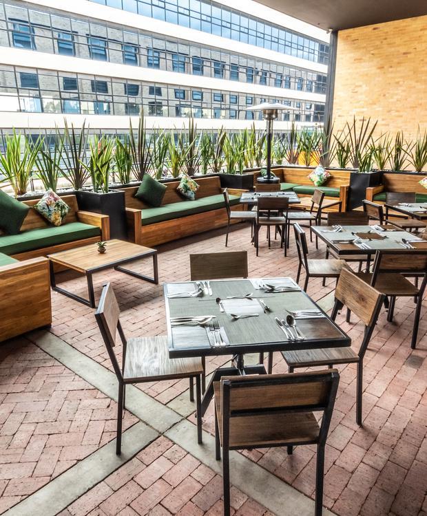 Terrace GHL Style Hotel Bogotá Occidente Bogotá