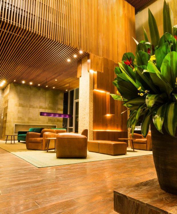 Primer piso Bioxury Hotel Bogotá