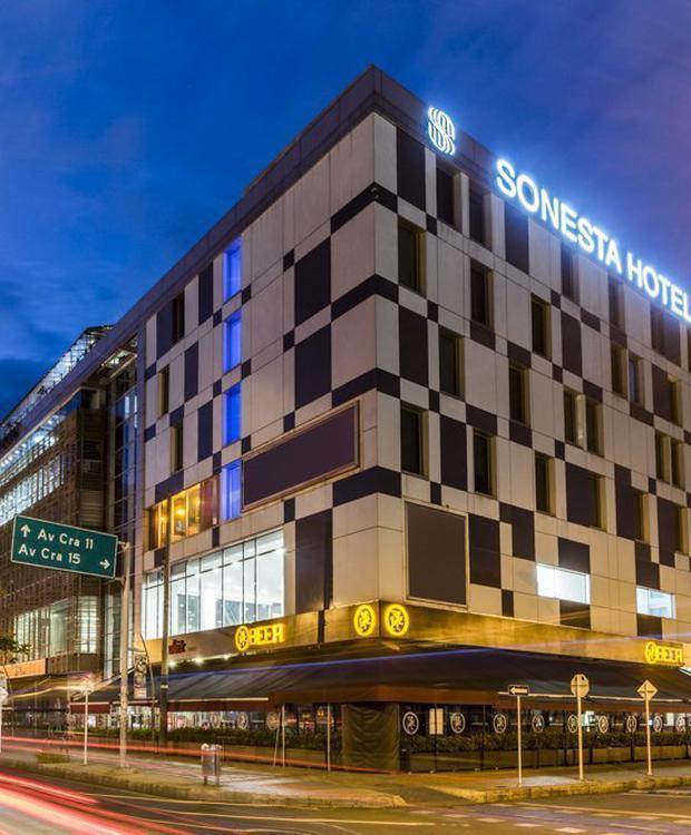 Fachada Sonesta Hotel Bogotá Bogotá