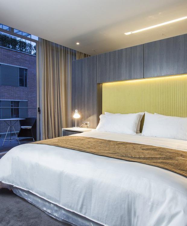 Deluxe room Bioxury Hotel Bogotá