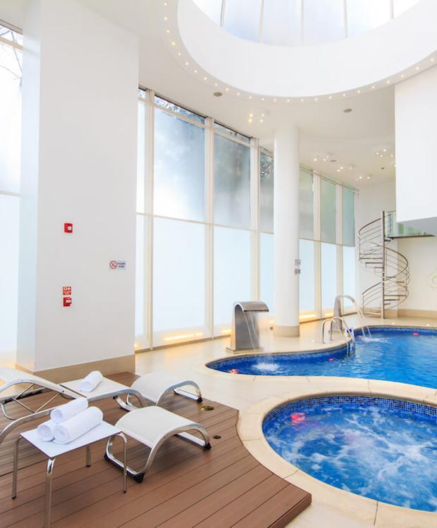 Indoor swimming pool Tequendama Hotel Bogota