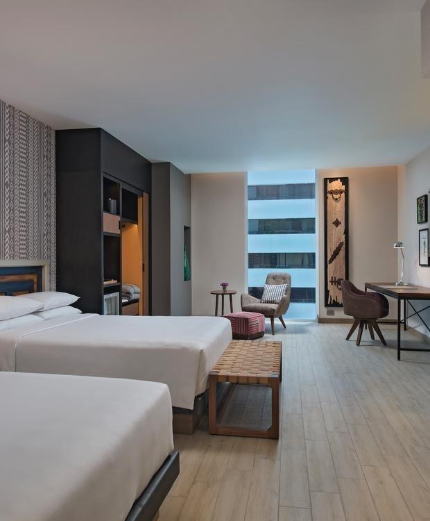 Twin Double Room Hyatt Centric Guatemala City Hotel Guatemala City