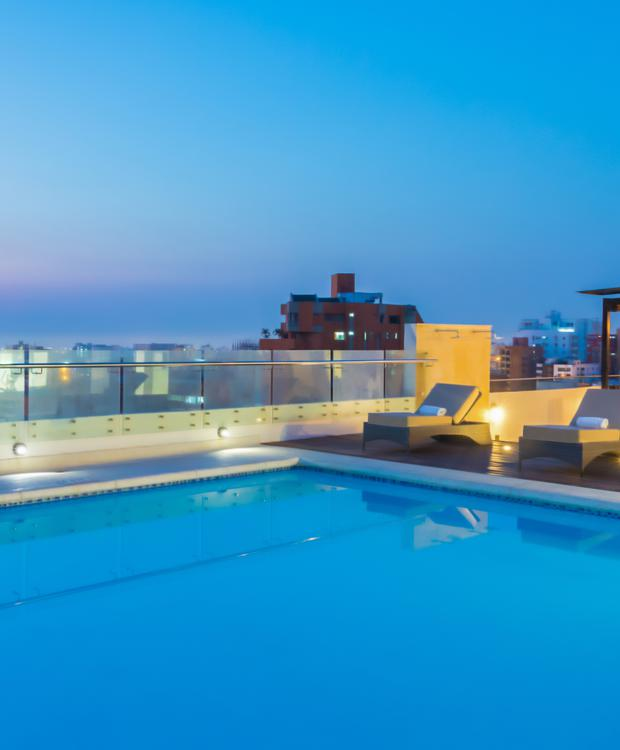 Pool Hotel Four Points By Sheraton Barranquilla Barranquilla