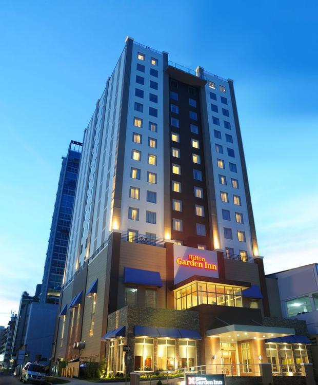 Facade Hilton Garden Inn Panamá Hotel Ciudad de Panamá