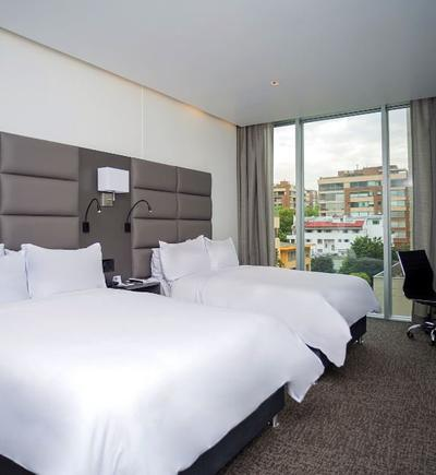 Twin room ghl collection 93 hotel bogota