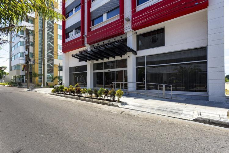 Entrance hotel park inn by radisson barrancabermeja