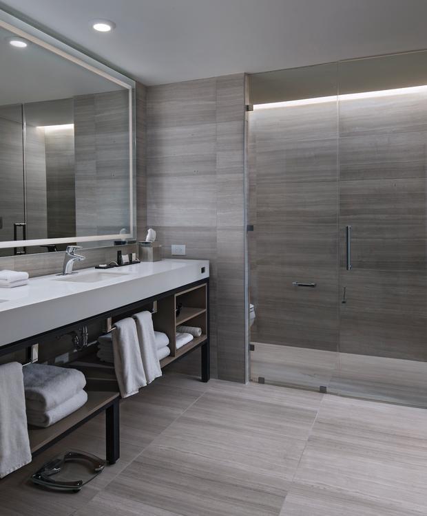 Executive Deluxe Room Bath Hyatt Centric Guatemala City Hotel Guatemala City