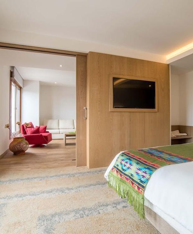 Master suite Biohotel Organic Suites Bogotá