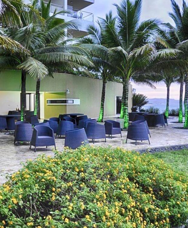 Restaurant GHL Relax Hotel Makana Resort Tonsupa