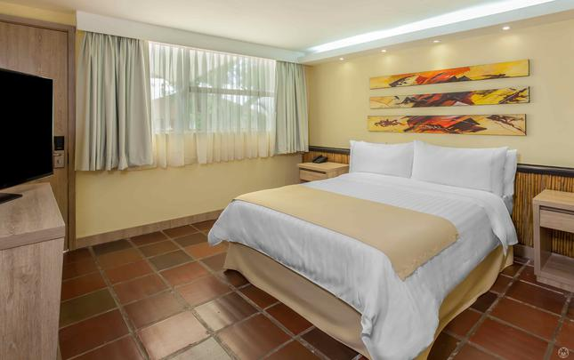 <strong>TRADITIONAL STANDARD QUEEN ROOM </strong> GHL Relax Hotel Club El Puente Girardot