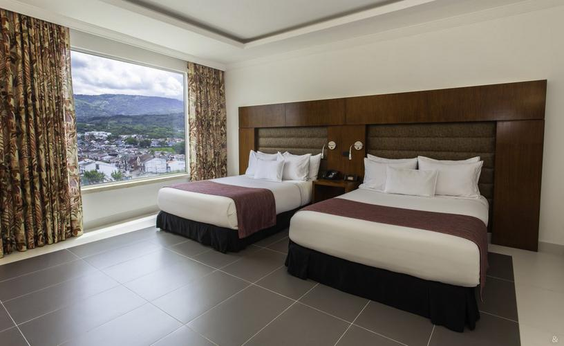 Twin room ghl hotel grand villavicencio