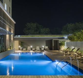 Outdoor Swimming Pool Hyatt Place Managua Hotel Managua