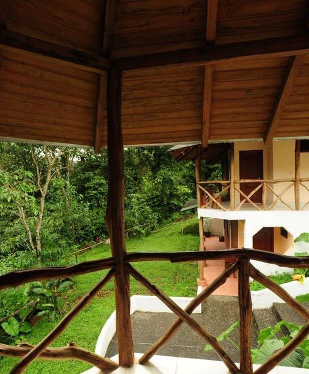 Room balcony Orkidea Orkidea Lodge Puyo