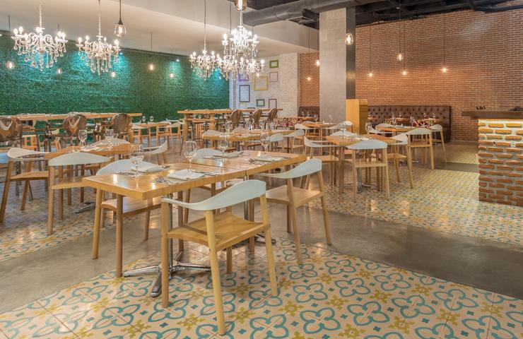Cook's restaurant hotel four points by sheraton barranquilla