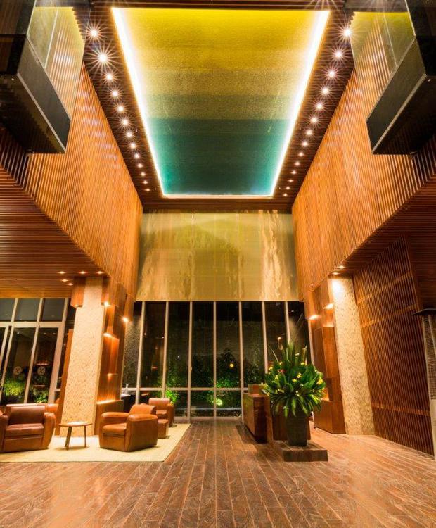 Lobby Bioxury Hotel Bogotá