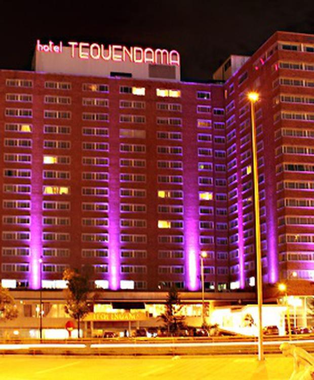 Facade Tequendama Hotel Bogota
