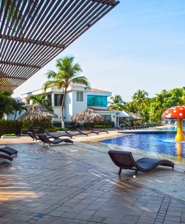 Pool Relax Costa Azul Hotel GHL Santa Marta