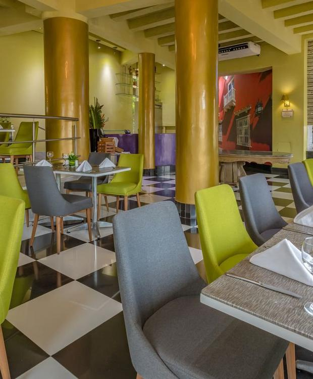 Restaurant GHL Collection Armería Real Hotel Cartagena de Indias