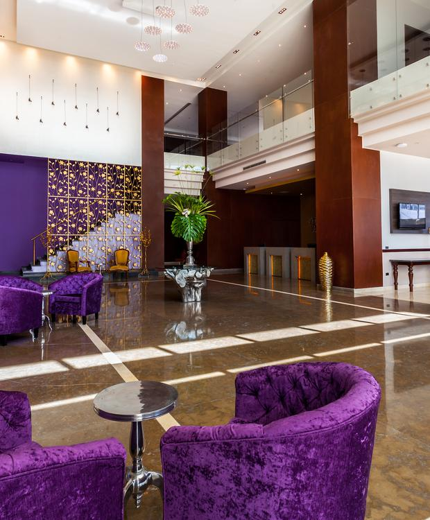 Lobby GHL Collection Barranquilla Hotel Barranquilla