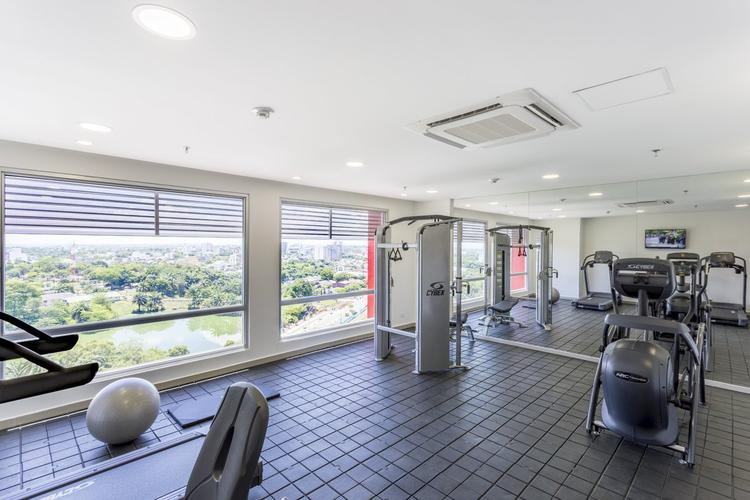 Gym hotel park inn by radisson barrancabermeja