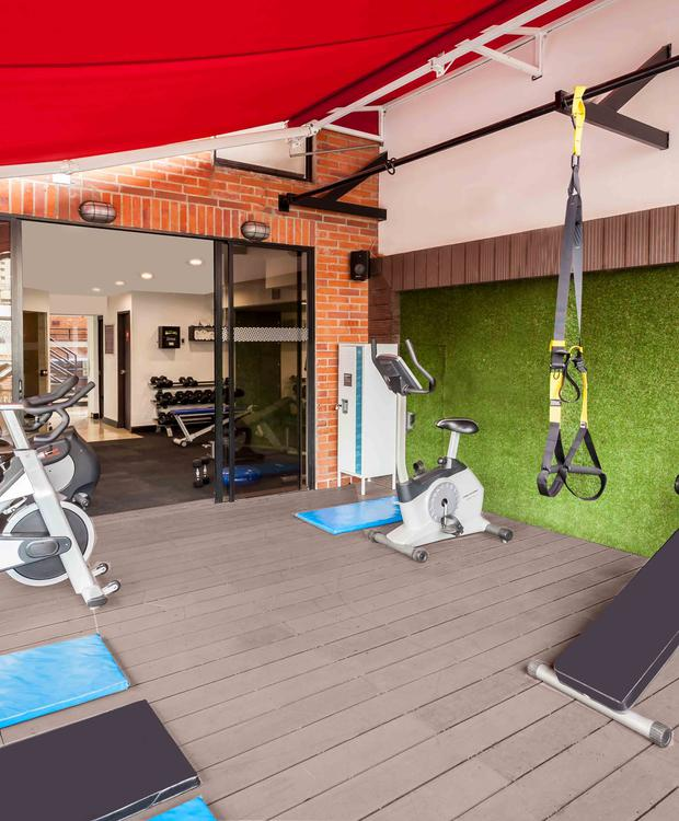 GYM Four Points by Sheraton Cali Hotel Four Points By Sheraton Cali Cali