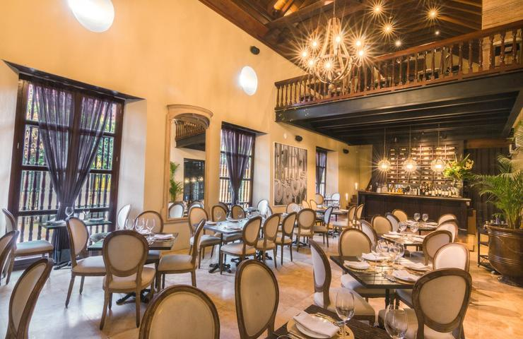 El gobernador restaurant bastion luxury hotel cartagena